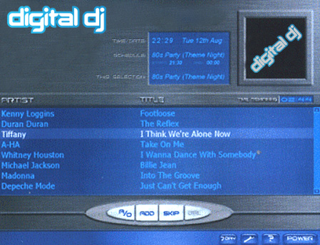 digital dj screen shot